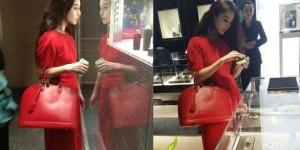 男人帶著美豔女人,他為小姐選了一款價格為565000元的包包,結果絕對出乎你意料...